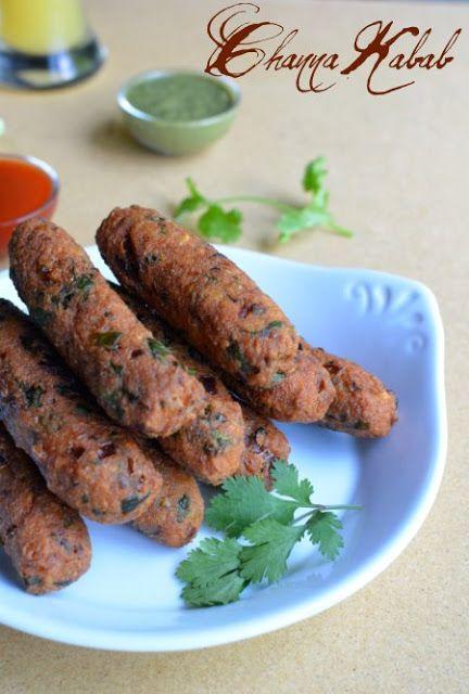 Channa/Chick peas Kabab ~ Nalini'sKitchen