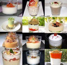 Visita: https://clairessugar.blogspot.com.es/ para recetas paso a paso con vídeos divertidos y fáciles!  ^^   Doce aperitivos salados en vas