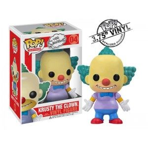 Figurine Simpsons Krusty le clown Pop 10cm