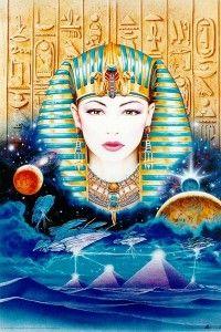 The Egyptian Goddess Isis and An Offering via @52Goddesses #inspiremechat #52goddesses