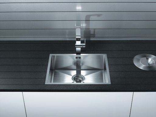 BLANCO ZEROX 500-IFN #BlancoZerox #SteelArt #LuxurySink #Kitchen