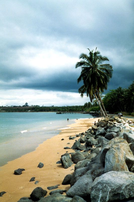 Plage de Sao Tome, version voyages www.versionvoyages.fr