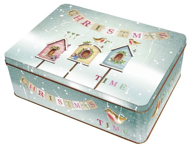 Střední plechová dóza - Christmas Fairytale č. 22/216529 BOX2