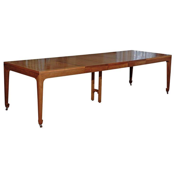 Vintage Baker Dining Room Table