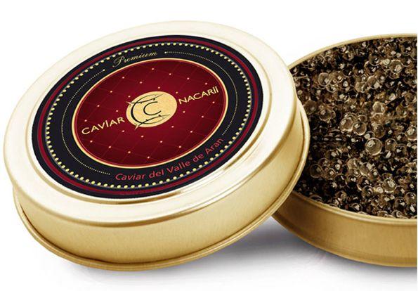 Packaging Caviar