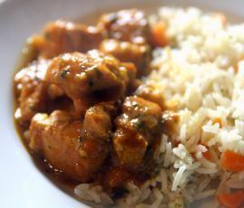 Caril de peito de frango by elvirandre on www.mundodereceitasbimby.com.pt