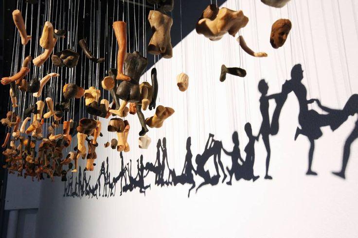 Installation de Bohyun Yoon. Corée.