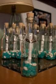 """message in a bottle"" but with candies, etc - takes it away from the beach theme... wedding favor idea diy - Google Search"