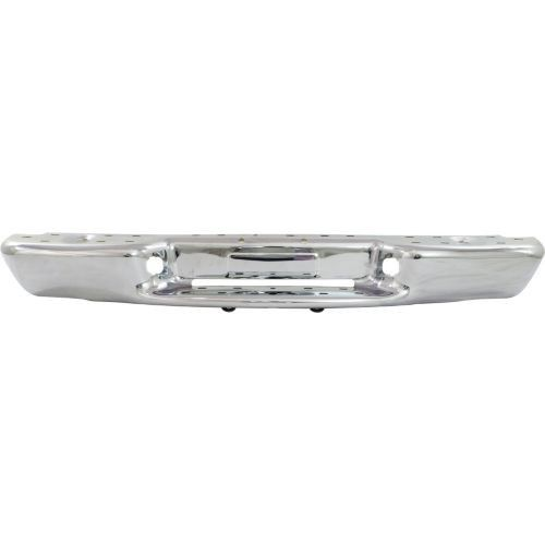 1998-2004 Chevrolet S10 Pickup Step Bumper,Chrome,Steel,Fleetside
