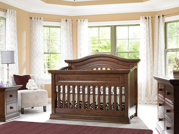 Bonavita Sheffield Lifestyle 4 In 1 Convertible Crib Collection   Nursery  Furniture Sets At Cribs