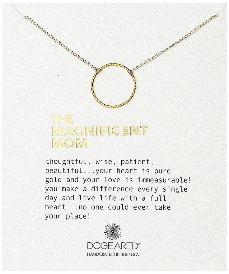 Dogeared The Magnificent Mom Little Sparkle Karma Chain Necklace, 18' -- Read more  at the image link.