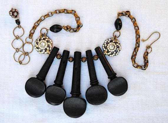 Collar flute vintage