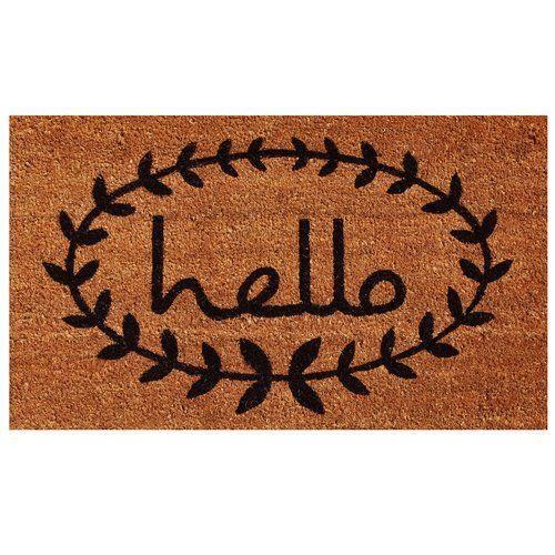 Found it at Joss & Main - Hello Vine Doormat