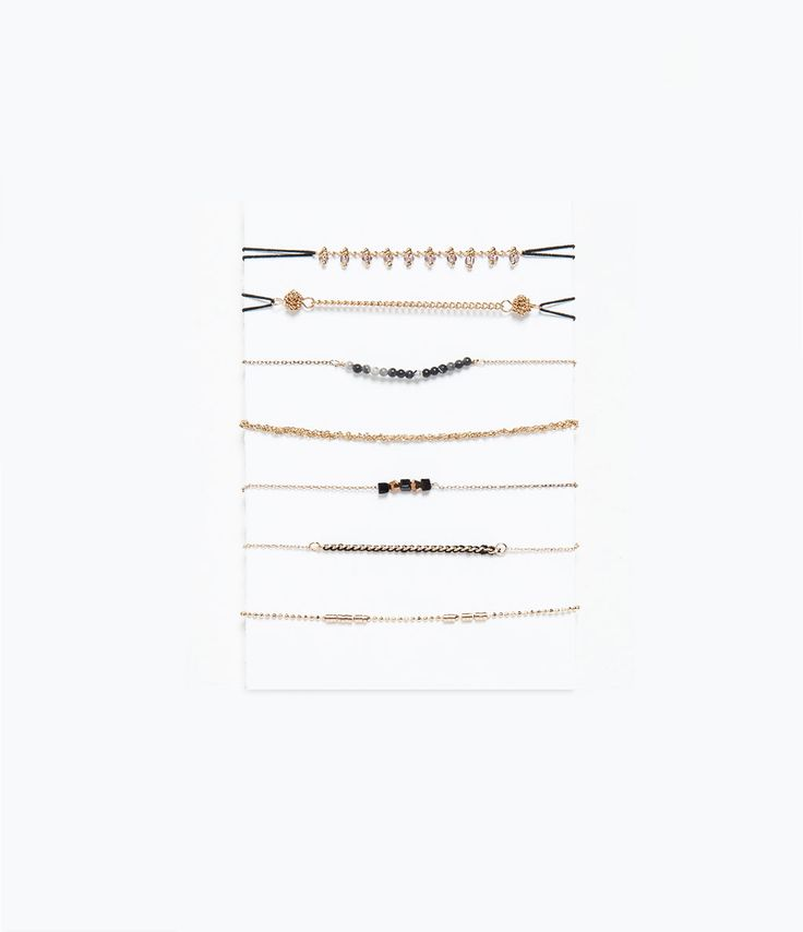 CHAIN BRACELETS PACK-Jewellery-Accessories-WOMAN | ZARA Mexico