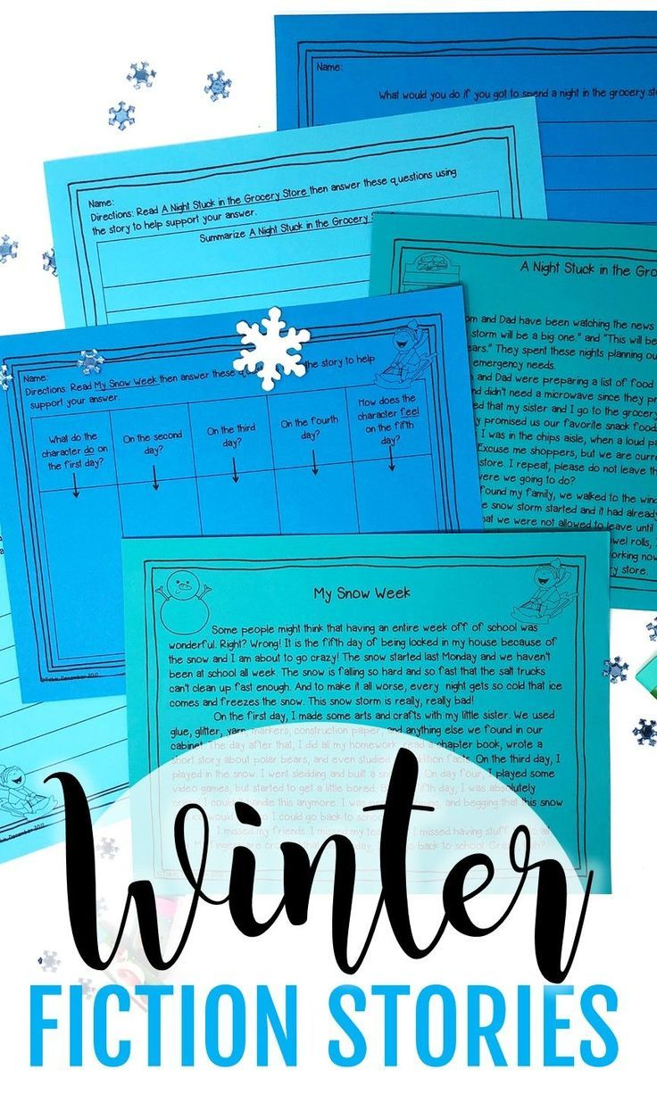 e35ab7430f44 Winter Activities for Comprehension