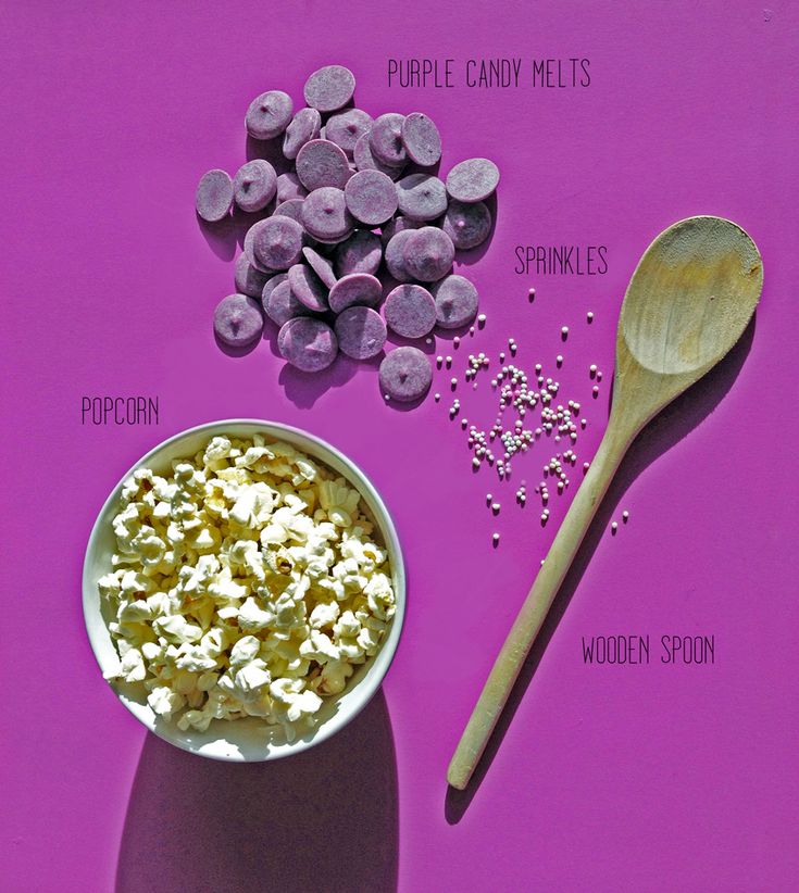 Tangled Movie Night: Purple Popcorn going to make this for the Johnson girls!