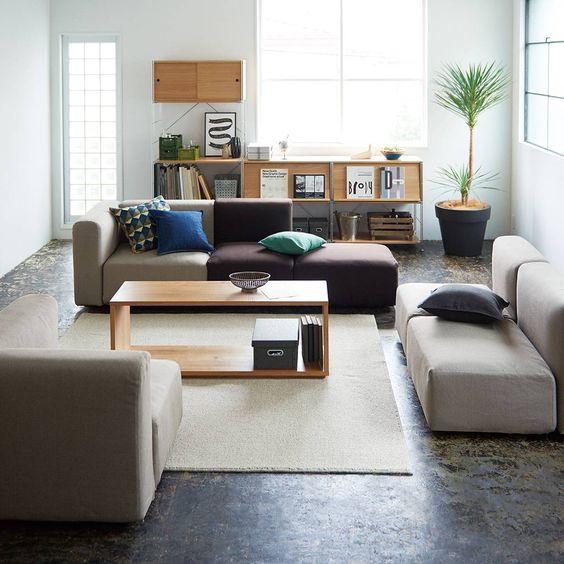 Die besten 25+ Muji Möbel Ideen auf Pinterest Muji Bett, Muji - designer couchtische phantasie anregen