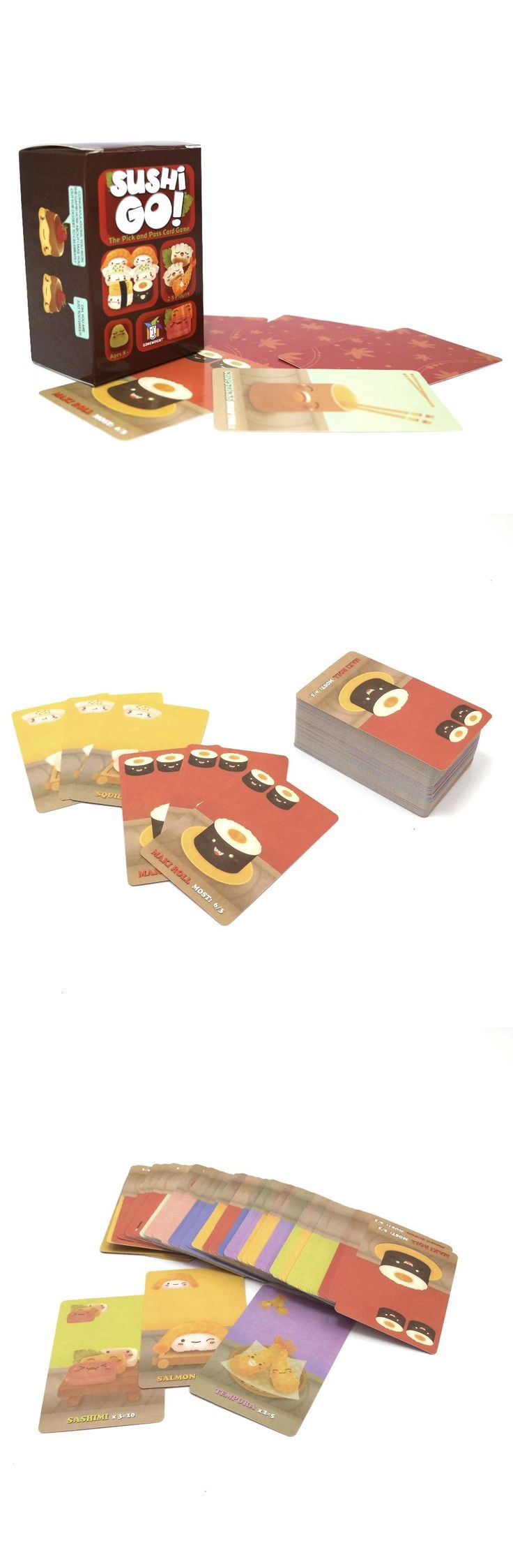 [Visit to Buy] 2017 new Full English version sushi go cards game easy carry version for party family kids board game #Advertisement