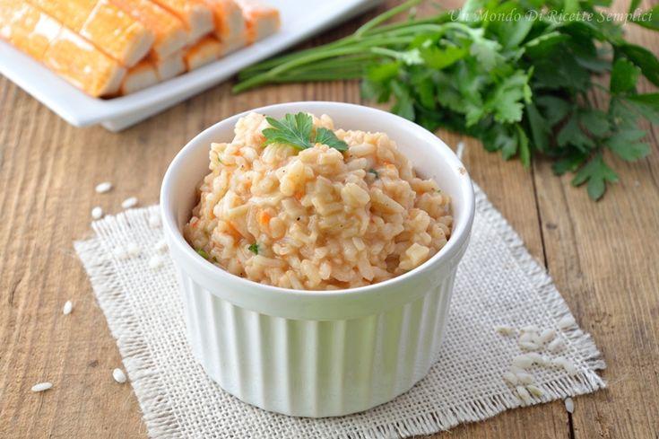 Il risotto con polpa di granchio è un risotto dal sapore unico, perfetto per tutte le occasioni, sia per un pranzo in famiglia che per eventi speciali.