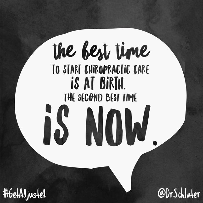 It's never too late to start. #getadjusted #chiropractic