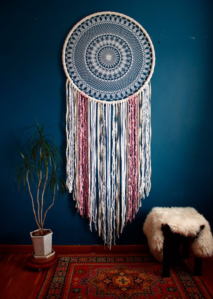 Large dream catcher, giant dream catcher, bohemian wall hanging, wedding photo backdrop, boho wall decor the Wheel of Life by TheWovenDreamFactory on Etsy https://www.etsy.com/uk/listing/473016928/large-dream-catcher-giant-dream-catcher