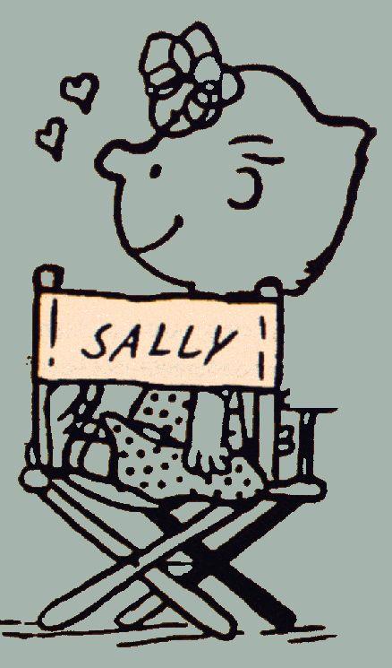 Sally Brown, from Charlie Brown Comics, sally.gif