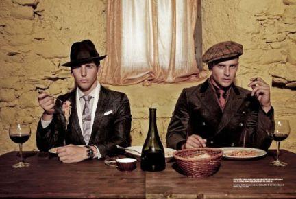 Tendenze moda uomo autunno-inverno 2009/10: lo stile gangster