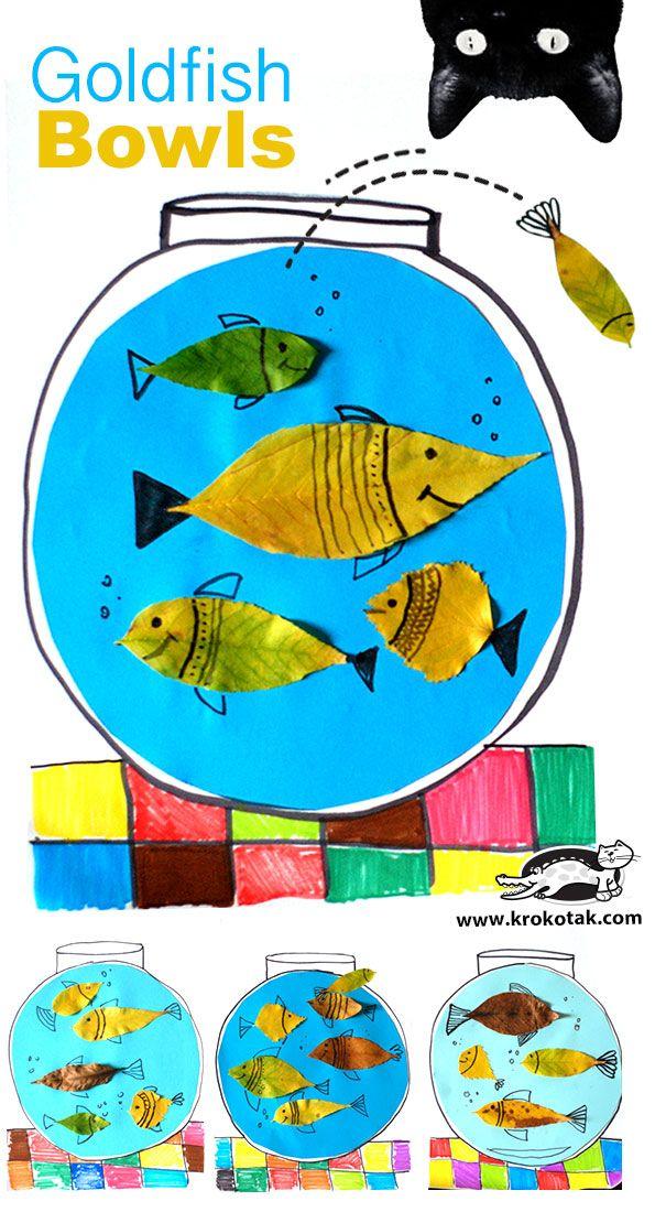 DIY Goldfish Bowls