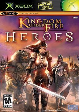 Kingdom Under Fire: Heroes was one of my favorite but most challenging games for xbox