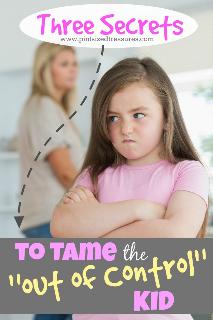 """Do you have an """"out of control"""" kid? Here are three parenting secrets that will help you address your child's negative behavior, while cultivating a home of love! @alicanwrite"""