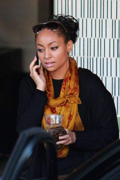 "Raven Symone! Casual chic (remember her in the old...""that's so raven""??? <3"