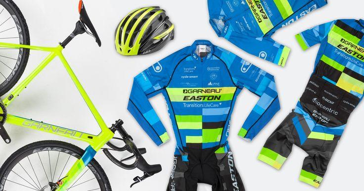 Custom Cyclocross kit for Garneau-Easton team
