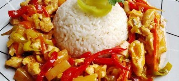 Édes-savanyú csirkemell | Receptváros - recept képpel