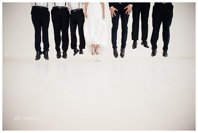 30 Super Fun Wedding Photo Ideas and Poses for your Wedding Party | Brideage