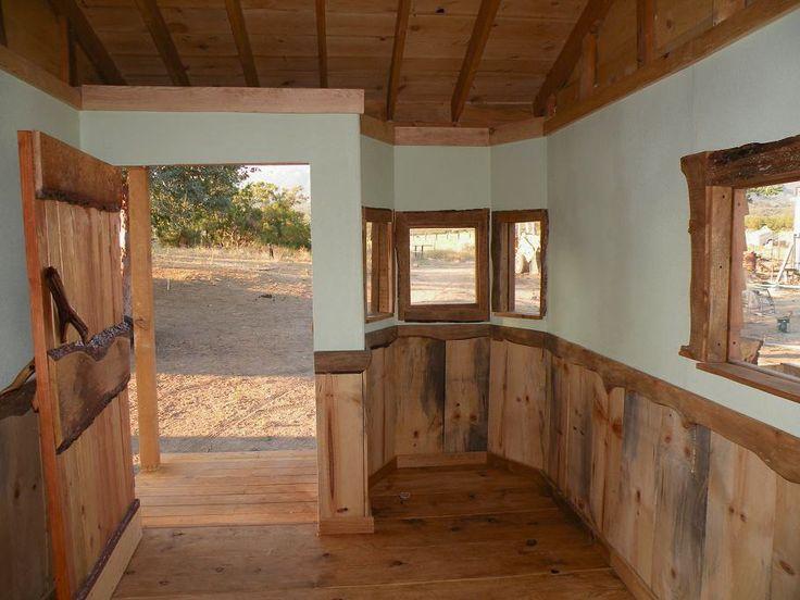 images of rustic cabin interior walls