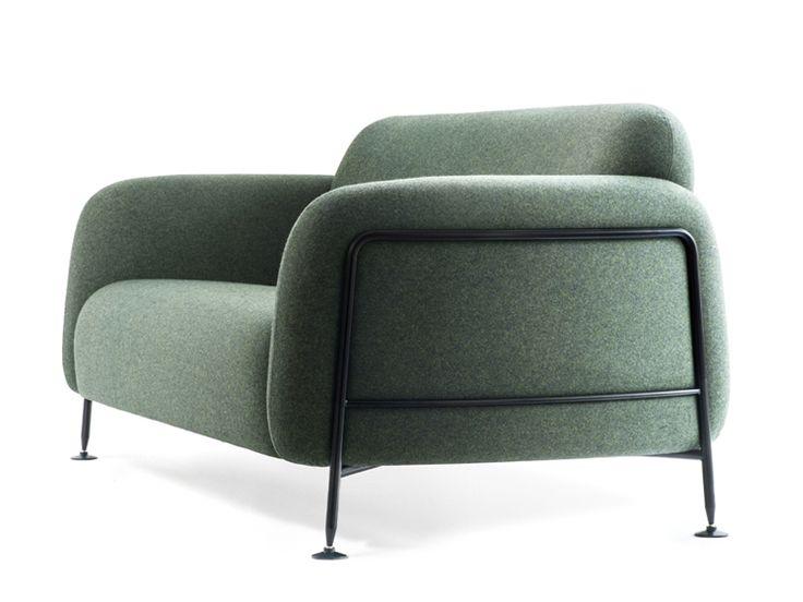 MEGA 2 seater sofa by Massproductions design Chris Martin