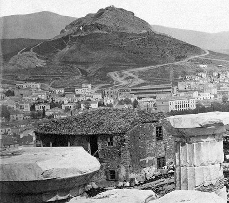 Λυκαβητός 1874, φωτο Pascal Sebah