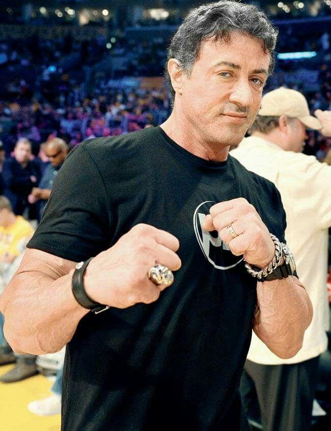 Jab Sylvester Stallone