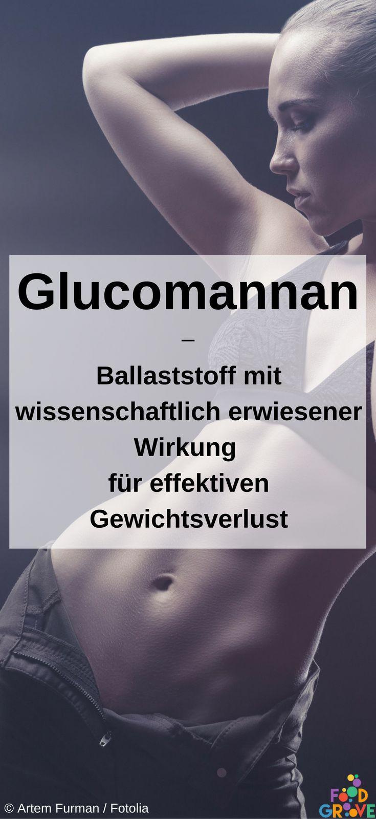 Glucomannan wirkt extrem sättigend und hilft dadurch beim Abnehmen - ohne Nebenwirkungen.