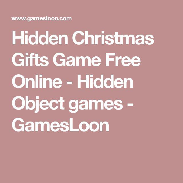 Hidden Christmas Gifts Game Free Online - Hidden Object games - GamesLoon
