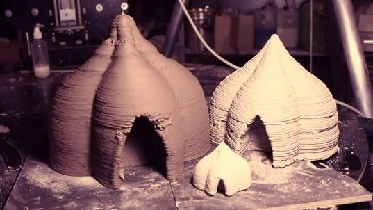 Say goodbye to cement & plastic and hello to sustainable homes 3D-printed with clay