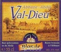 Label van Val-Dieu Blond