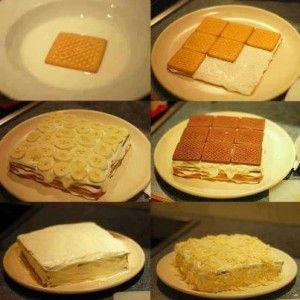 Biscuit sur gateau