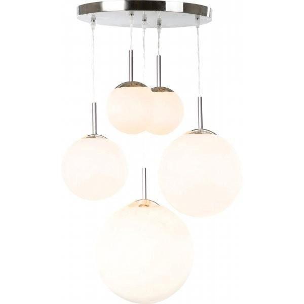 Pendul modern diametru 45cm Balla 1581-5 GL - Corpuri de iluminat, lustre, aplice