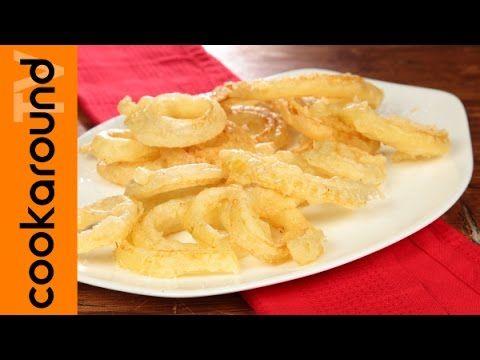 Cipolle fritte in pastella / Ricetta anelli di cipolla - YouTube