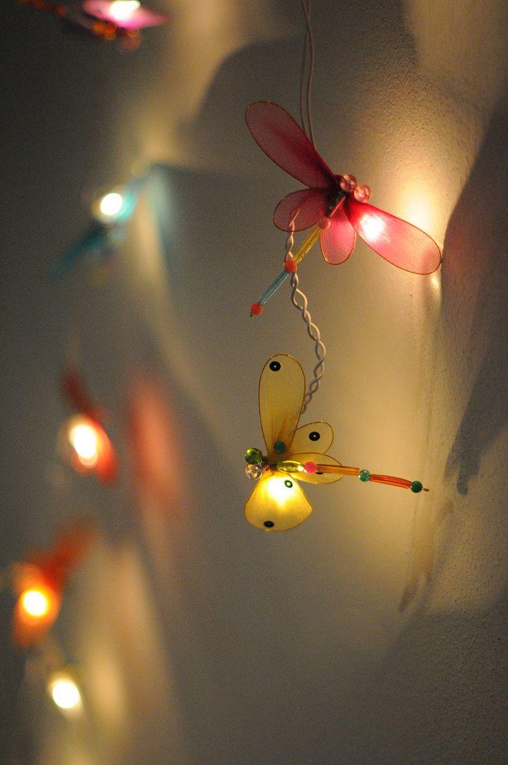 20 x Dragonfly bead handmade kid room toy display bedroom light lantern lamp family decoration light. $17.50, via Etsy.