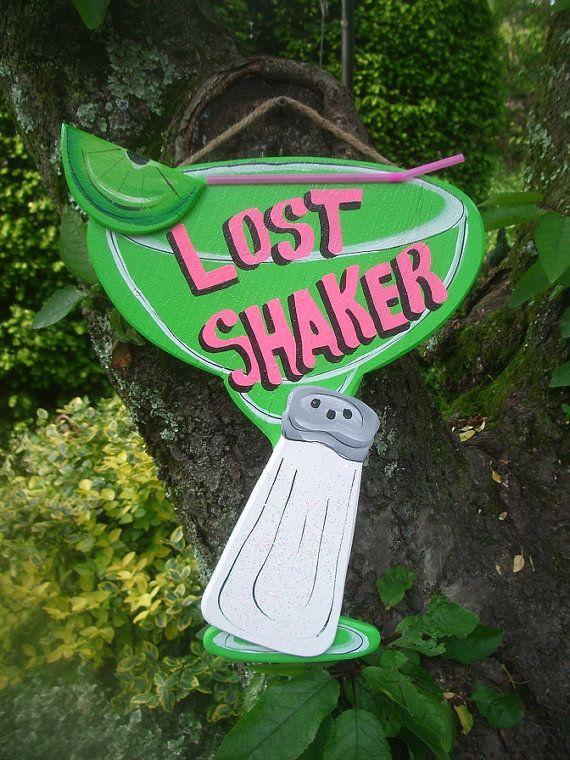 LOST SHAKER  Tropical Tiki Bar Hut Bar Drink by FRANSCOUNTRYNY, $19.95