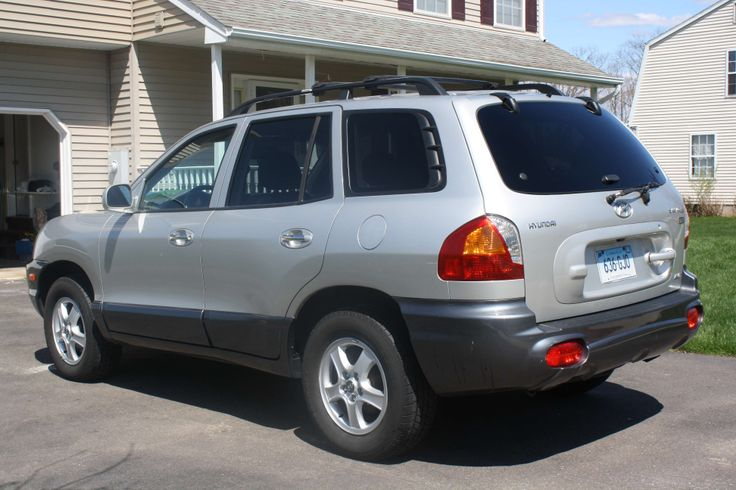 Used 2004 Hyundai Santa Fe for Sale ($6,435) at Middletown, CT