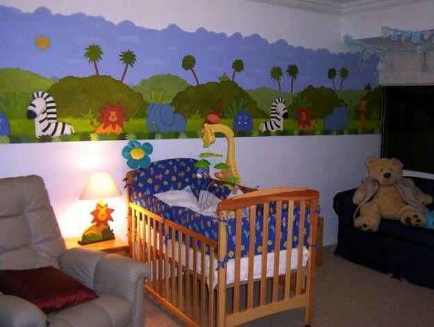168 best decoracion infantil images on pinterest child for Decoracion habitacion bebe