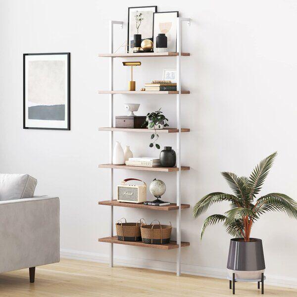 22+ Zachary open shelf industrial ladder bookcase ideas